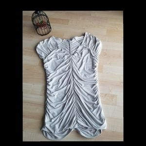 EXPRESS Beige Blouse Size S